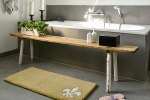 Verwendung als Badezimmerteppich