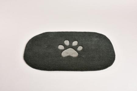 Dog 2, anthrazit / grau, 100 x 70