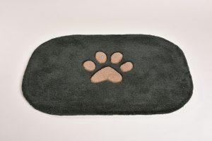Dog 2, anthrazit / sepia, 100 x 70