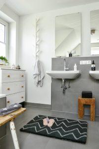 Ikat als Badezimmermatte